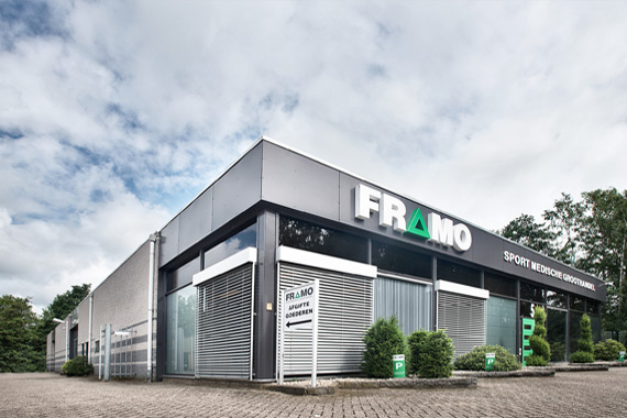 Foto bedrijfspand FRAMO Sport Medische Groothandel
