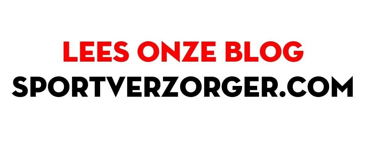 Lees onze blog op www.sportverzorger.com