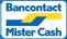 Bancontact MisterCash logo FRAMO